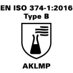 EN ISO 374-12016 - Type B - AKLMP