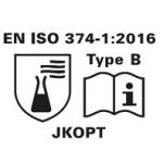 EN ISO 374-12016 - Type B - JKOPT