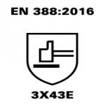 EN 388 3X43E