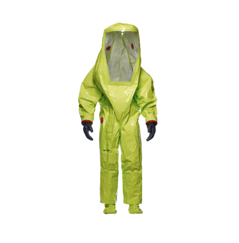 TYCHEM 10000 TK Gas-Tight Suit with socks