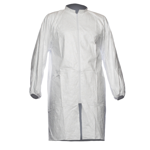 Tyvek 500 Labcoat with zipper and pockets
